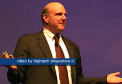 Steve Ballmer at MIX08 in Milan